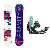 set Gravity Sirene 17/18 + vázání Gravity G2 lady black + DÁREK dle VÝBĚRU