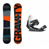 set Gravity Bandit 17/18 + vázání Gravity G1 black + DÁREK dle VÝBĚRU