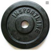 Insportline závaží ocelové 15 kg +DÁREK dle VÝBĚRU!!!