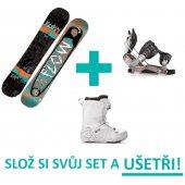 Snowboardový set FLOW a GRAVITY