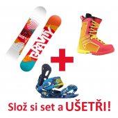 Snowboardový set GRAVITY