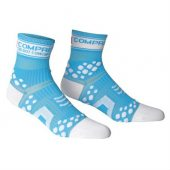 COMPRESSPORT ponožky V2 PRO RACING běžecké modré