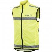 CRAFT Safety Vest žlutá 192480-1850 +DÁREK dle VÝBĚRU a DOPRAVA ZDARMA!!!
