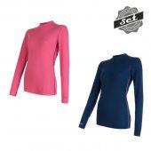 SENSOR ORIGINAL ACTIVE dámský set 2x triko dl.ruk. tm.modrá + růžová + DÁREK DLE VÝBĚRU!