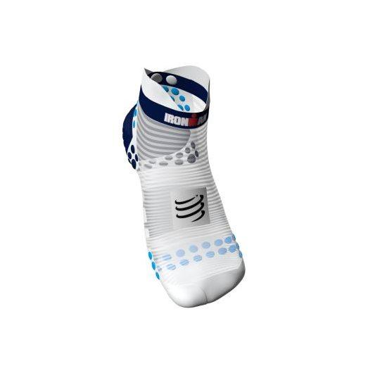 Skladem COMPRESSPORT nízké ponožky V3.0 Ironman 2017 modré zobrazit větší  obrázek 9ed50e6b1a