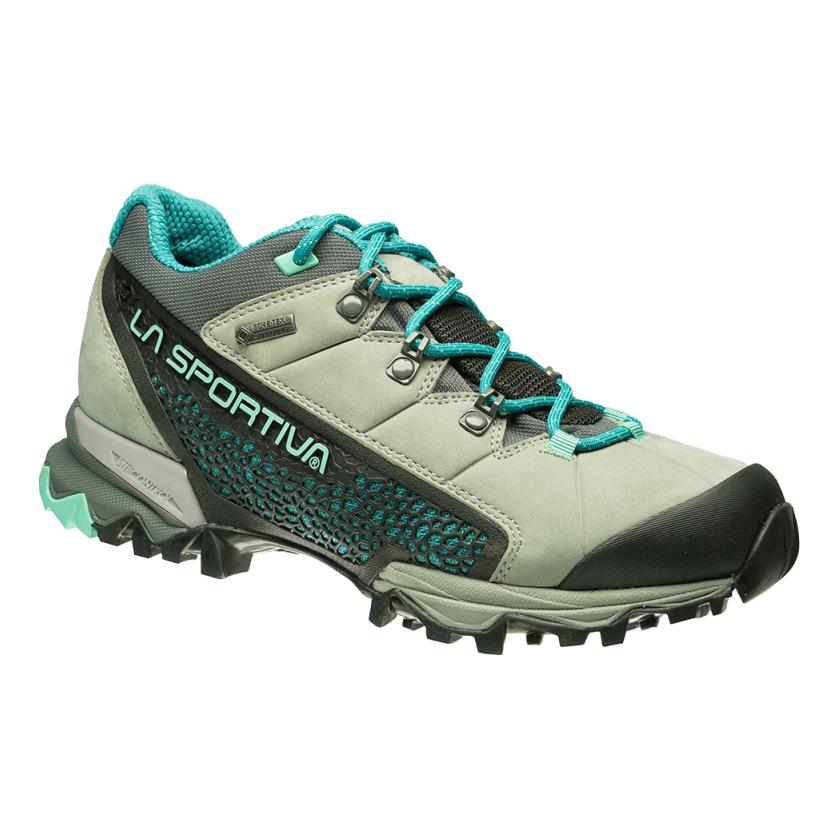 Výborné dámské hikingové boty od firmy La Sportiva s GORE-TEX® Surround™  technologií. Tato patentovaná konstrukce umožňuje vlhku a teplu unikat přes  laminát ... 875f396e80