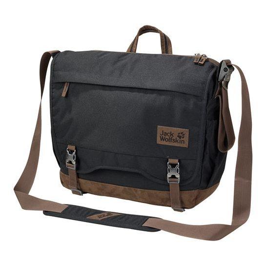 c53be845b7 Stylová městská taška Jack Wolfskin CAMDEN NOTE z odolného materiálu a  vyztuženým dnem pro každodenní nošení.
