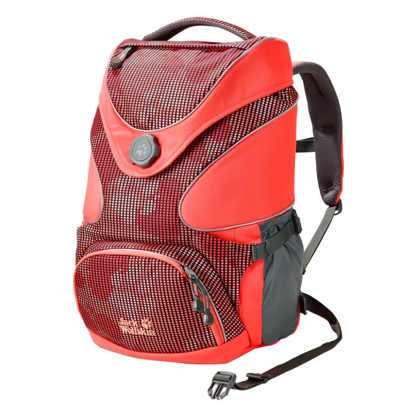 Školní batoh s mnoha kapsami a originálním designem od firmy Jack Wolfskin. 98b4bce92e