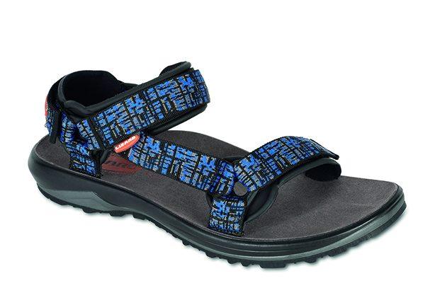 b8b62d0697f Sandále Lizard Ride H2O map blue mají nekoženou stélku