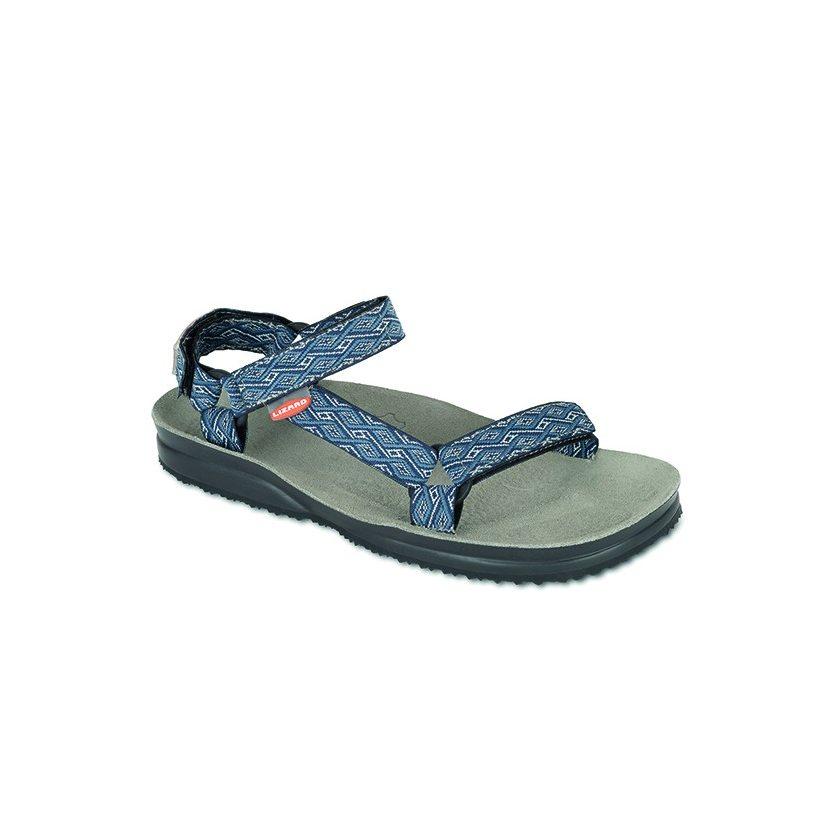 a1fa91a1985 Sandály Lizard Super Hike etno blue jsou příjemné a zároveň lehké. Další  výhoda je