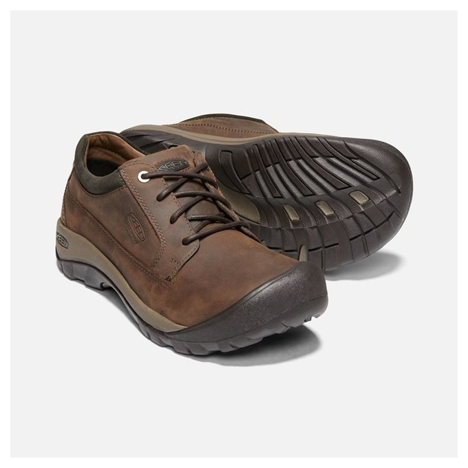d7a8d8c76 KEEN AUSTIN CASUAL WP M chocolate brown/black olive | online-sport.cz