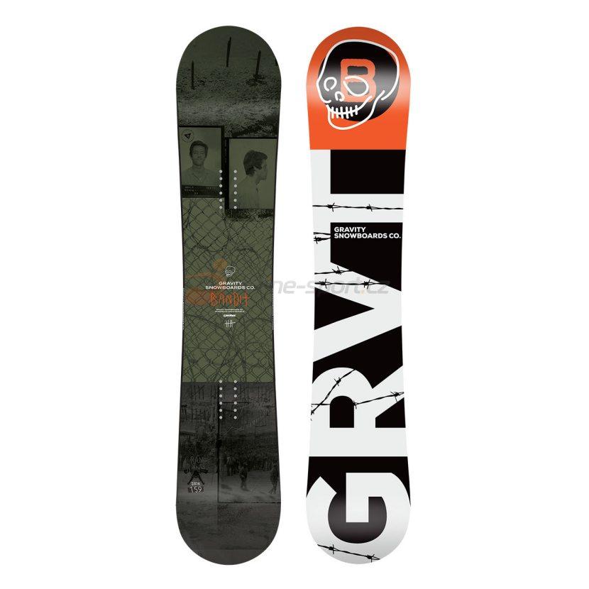 ... set Gravity Bandit 18 19 + vázání Gravity G3 black white 60565e2390