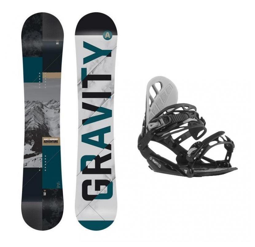 set Gravity Adventure 18 19 + vázání Gravity G1 black  285da1a50c