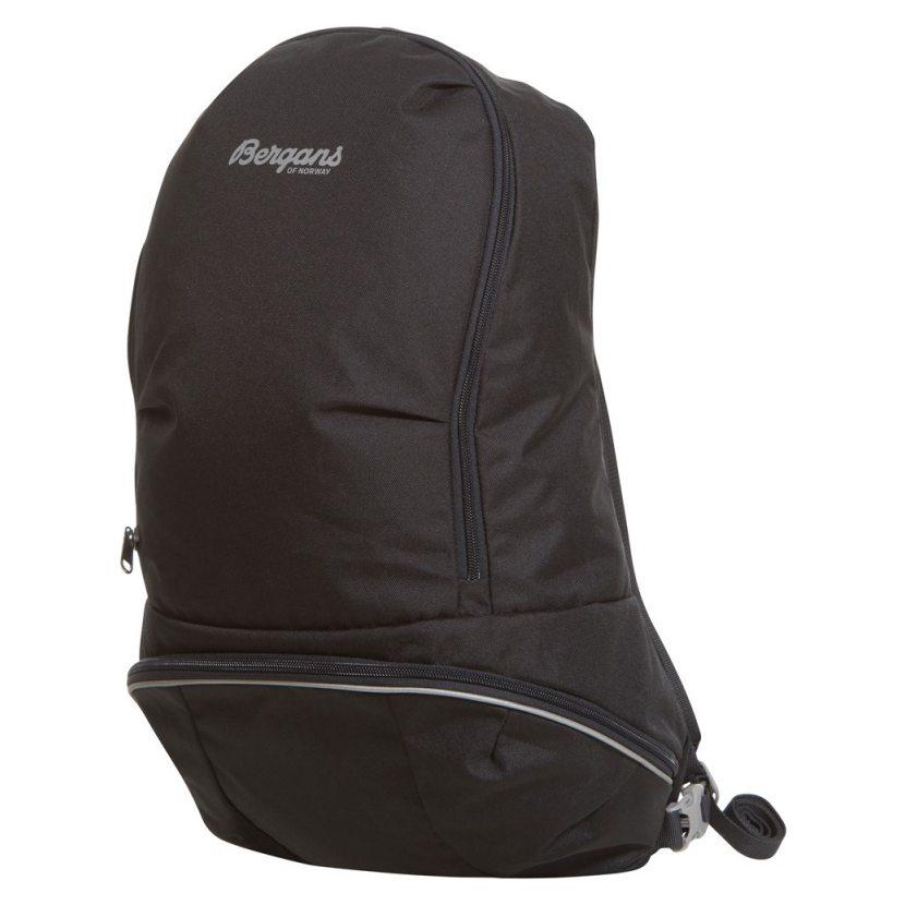 0a17c600d Školní batoh na cvičební úbor Plus 17 je možné snadno připnout na batohy  Bergans 2GO a vytvořit jeden batohový celek. Výrazně tak snížíte riziko  ztráty ...
