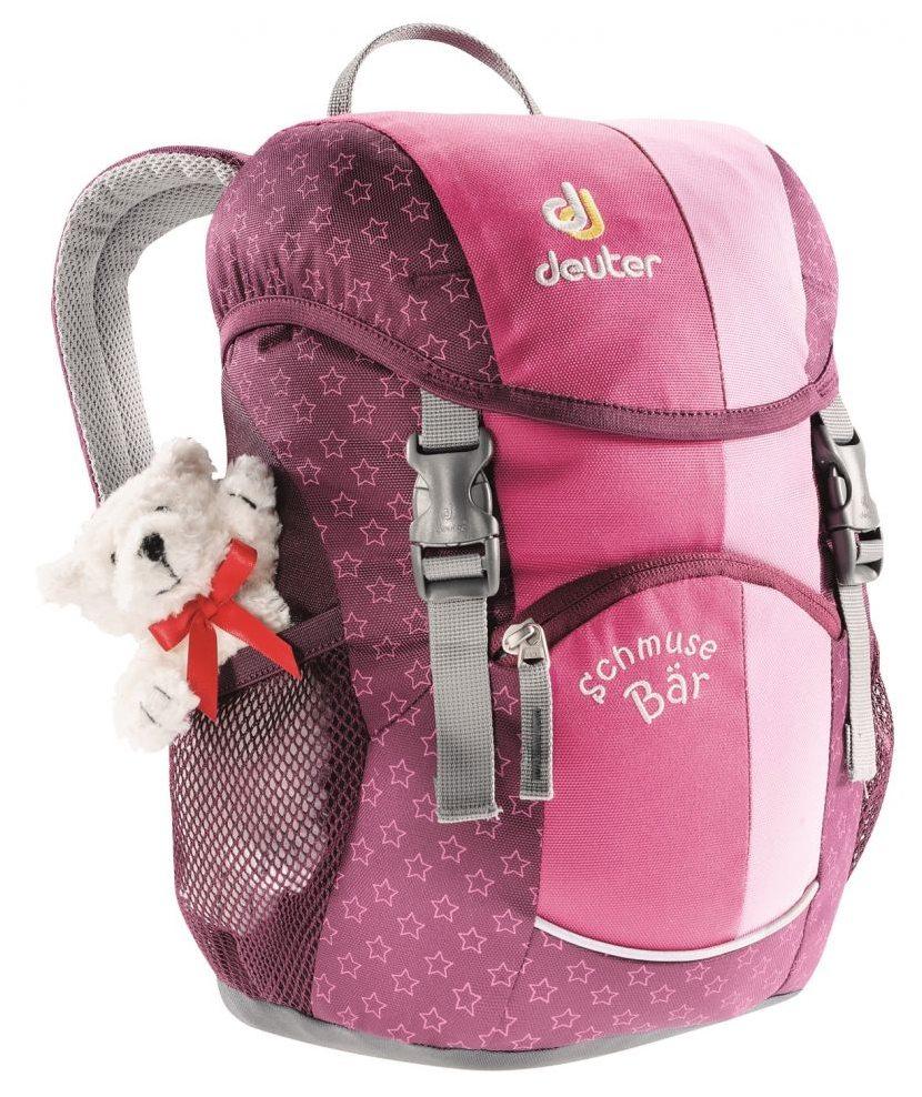 Nový design batohu pro nejmenší Deuter Schmusebär pink f626f9a900