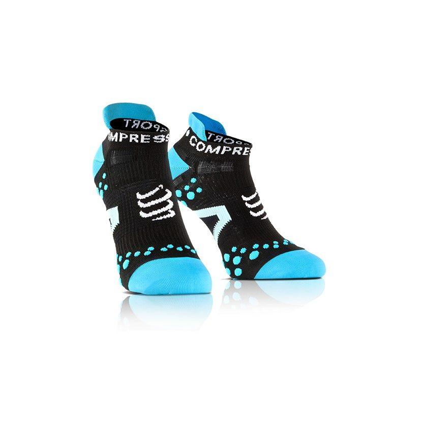 COMPRESSPORT ponožky V2.1 PRO RACING běžecké nízké černo-modré ... abfb57fdd1