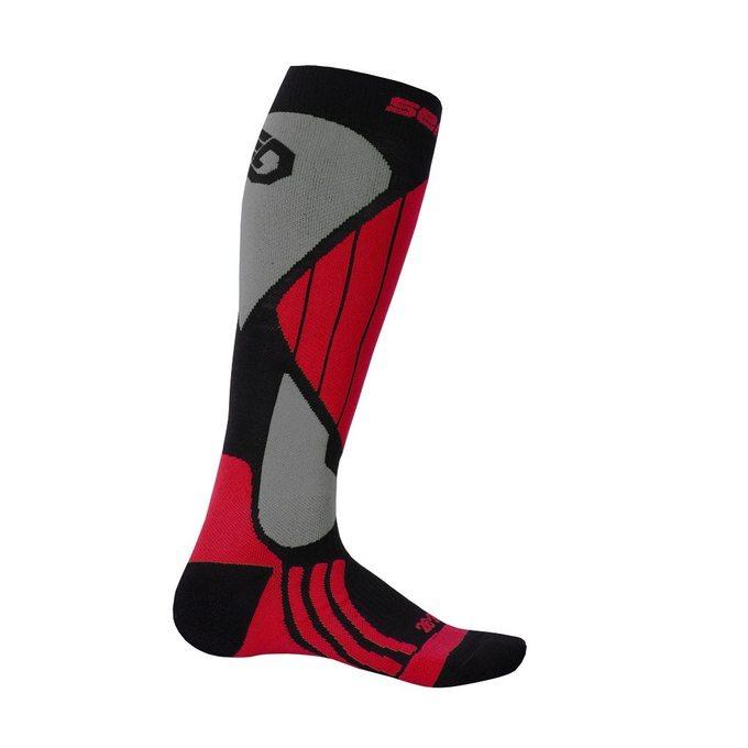 Novinka Skladem SENSOR SNOW PRO ponožky černá červená šedá zobrazit větší  obrázek cddd58e126