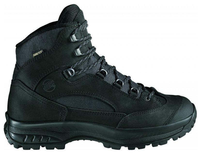 0b13231cc74 Treková obuv Hanwag Banks GTX® black je velice pohodlná a při tom pevná  bota